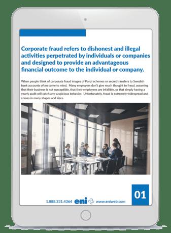 Preventing Corporate Fraud