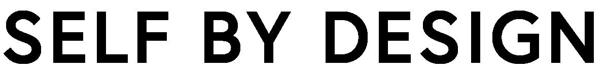 Self by Design Wordmark Black